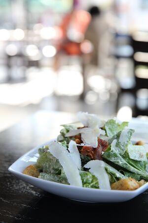 ensalada cesar: ensalada C�sar en primer plano