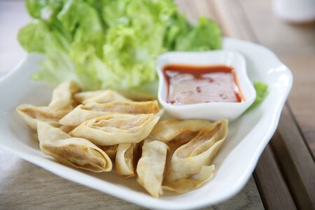 egg roll: Fried Spring Roll also known as Egg Roll