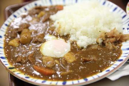 japanese cookery: Curry rice , japanese food