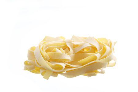 maccheroni: Pasta isolated on white background