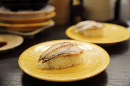 japanese food rice with eel ( unagi ) eel sushi