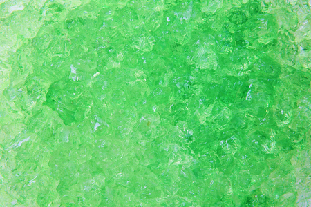 green ice background Stock Photo