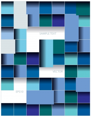 modern vector mosaic tiles background Vector
