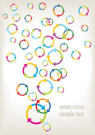 color vector recy symbols