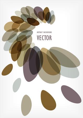pebles: bubbles vector frame