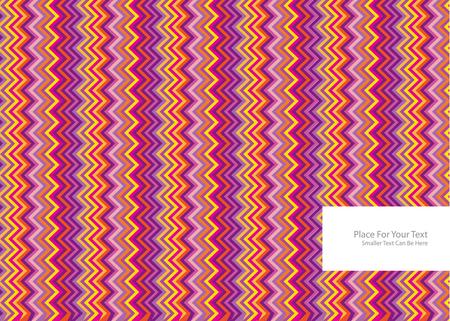 zig: color zig zag pattern