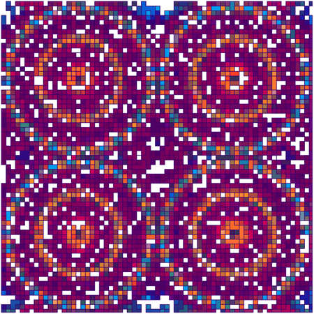 hypnotism: azulejos de mosaico de color de fondo