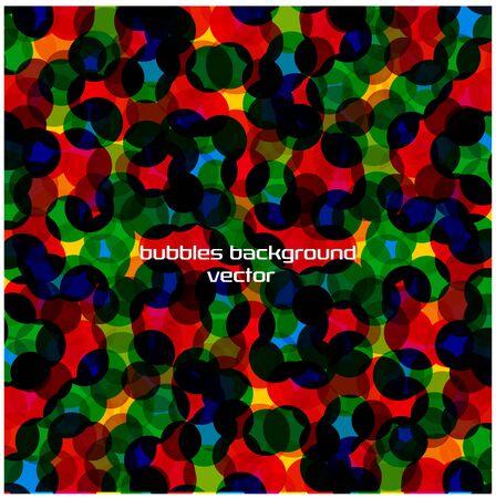 bright: bright vector bubbles background