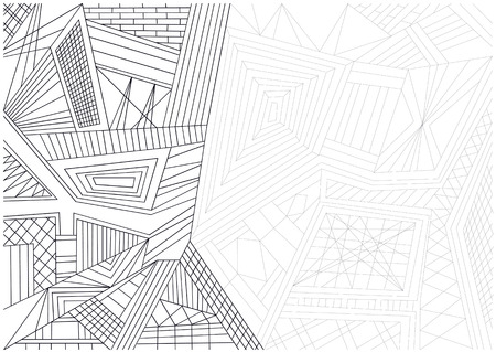 lines background: abstract vector lines background