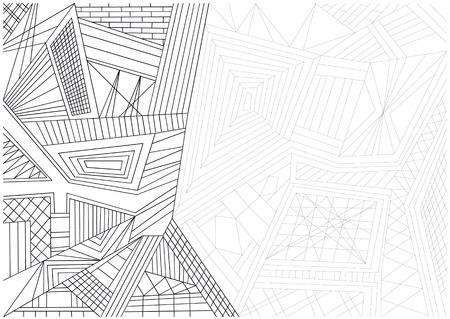 linee vettoriali: linee vettoriali sfondo astratto