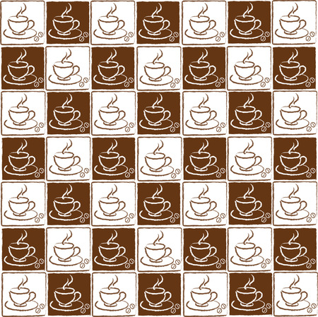 cappucino: set of coffee cups