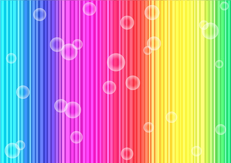 bright: bright party background with bubbles