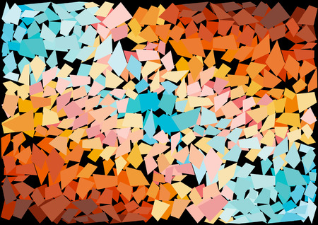 mosaic tiles: abstract mosaic tiles background Illustration