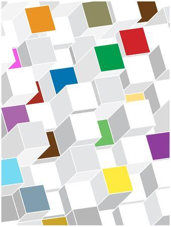 zuilen: bright vector columns