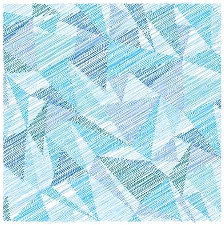 bright: bright scribble triangles background Illustration