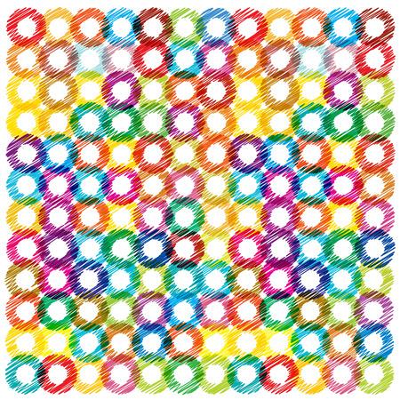 bright: bright vector circles background