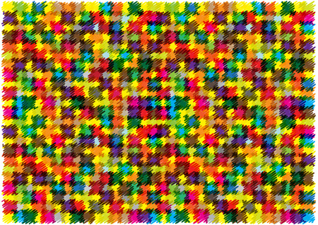 squares background: bright vector scribble squares background Illustration