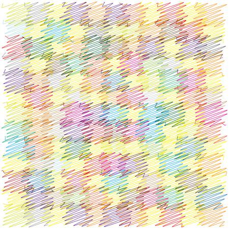 scribble: scribble squares vector background Illustration