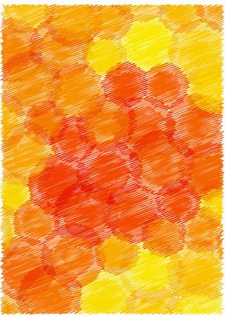 linen: bright vector bubbles background