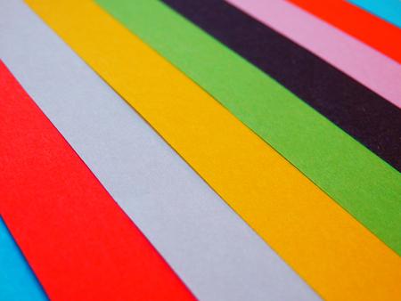 papier couleur: ensemble de feuilles de papier de couleur Banque d'images