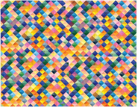 mosaic tiles: color vector mosaic tiles background