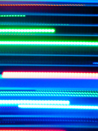 color photography: color photography of neon lights