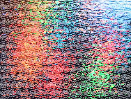 abstract background with colorful mosaic tiles