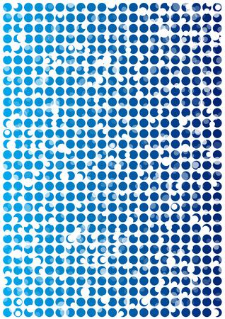 mosaic tiles: circle mosaic tiles vector background