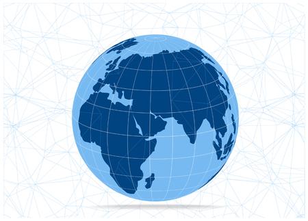 icon 3d: 3d vector earth icon