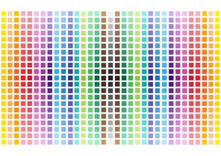 white tile: modern vector bright rainbow squares background