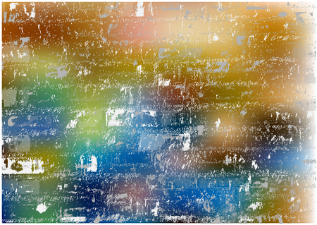 grungy vector bricks texture on bokeh bright background