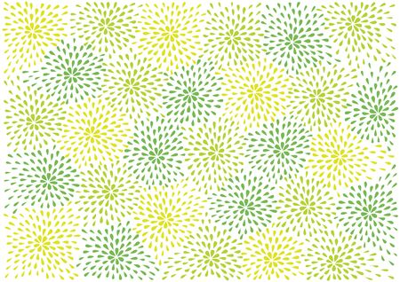 abstract vector flowers background