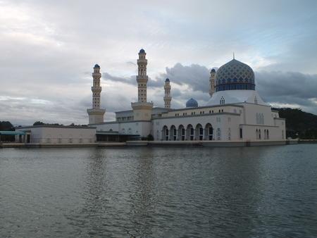 alam: Masjid Shah Alam (Blue Mosque), Sabah, Malasia