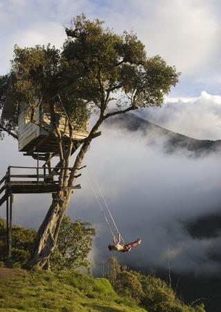 Casa del Arbol - Incredible swing over the abyss in Ecuador