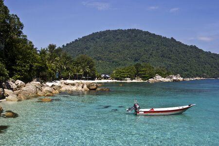 Paradise beach in Malaysia