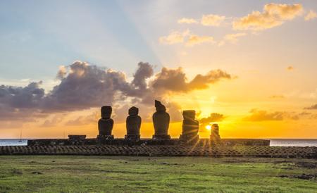 Ahu Tahai, Easter Island, Chile
