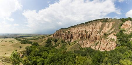 Rapa Rosie - a geological and botanical reserve in Romania