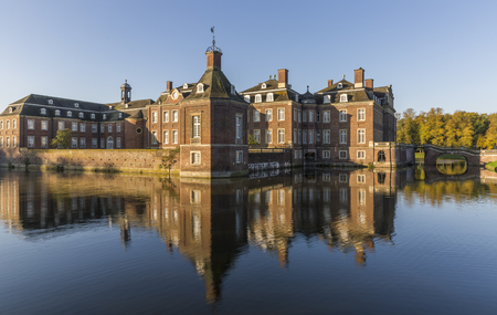 Nordkirchen moated castle in Germany known as the Versailles of Westphalia