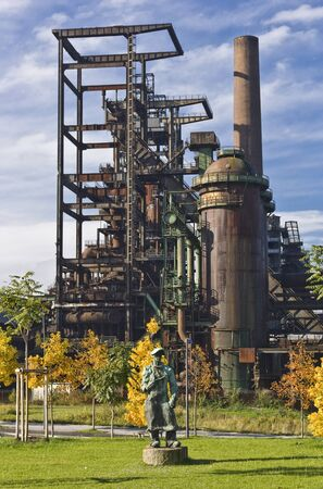 Metallurgical plant Phoenix West in Dortmund, Germany Stock Photo