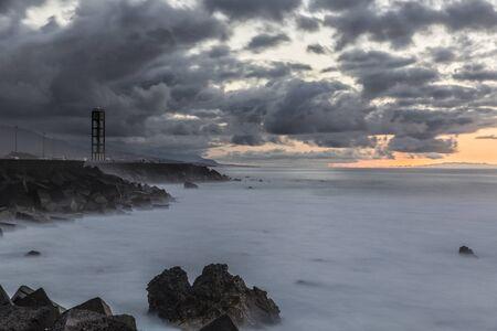 Sunset at Puerto de la Cruz, Canary Islands