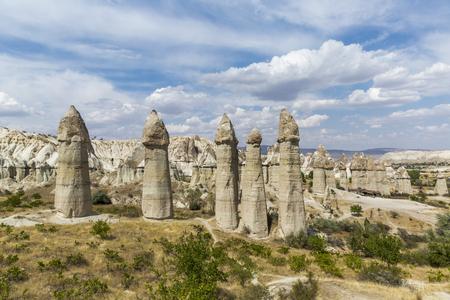 Love Valley in Cappadocia