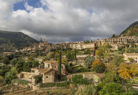 Valldemossa village on the island of Mallorca