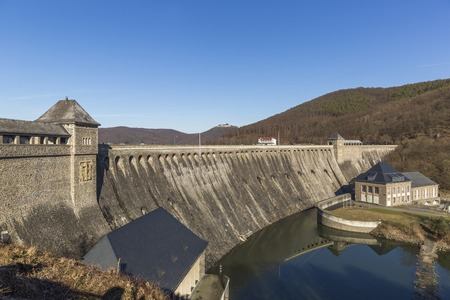 Edersee Dam in February, Germany