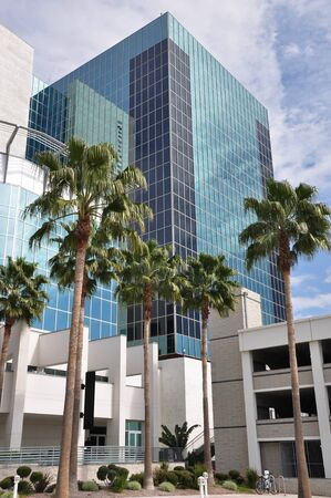 View of a Riverside, California office tower. Reklamní fotografie