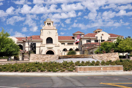 View of Temecula City Hall in southern California.