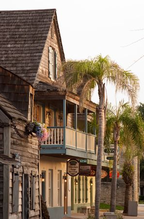 Downtown St. Augustine photo