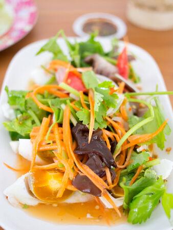 tuna mayo: Salted egg salad