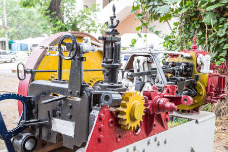 train engine: old train engine model