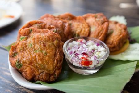 Thai Food Fried Fish Cakes