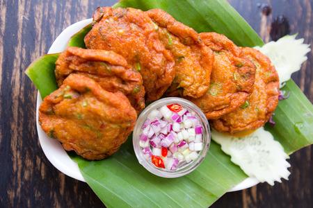 thai food: Thai Food Fried Fish Cakes